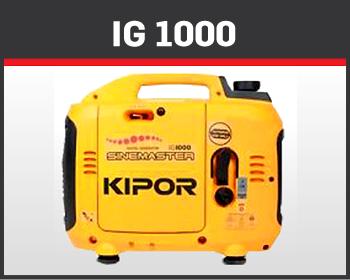 1- KIPOR- Potencia Maxima 1.95 Kva
