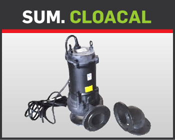 12- SUMERGIBLE CLOACAL 4""